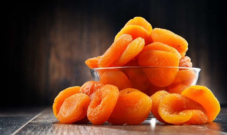 Сушеный цельный абрикос