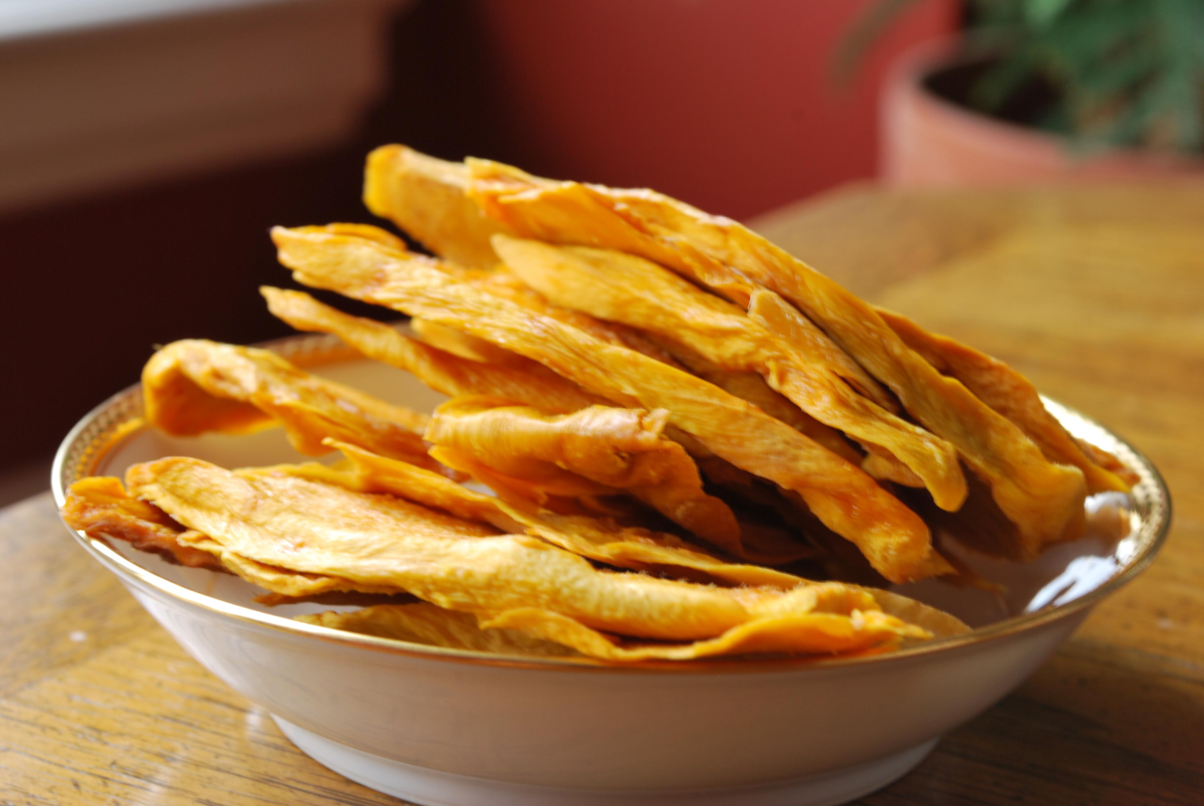 Сухофрукты из манго